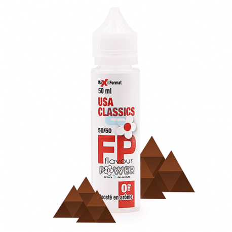 USA Classics 50 mL - Flavour Power 50/50