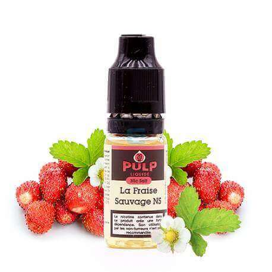 Fraise Sauvage Nic Salt 10 mL - PULP