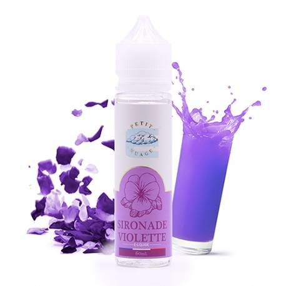 E-liquide Sironade Violette 60 mL - Petit Nuage