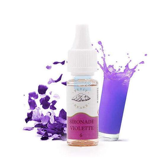 E-liquide Sironade Violette 10 mL - Petit Nuage