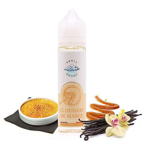 E-liquide Le Dessert de Mamie 60 mL - Pretty Cloud