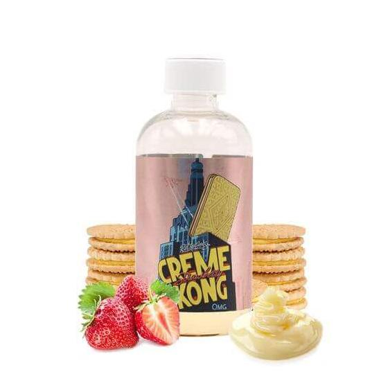 Creme Kong Strawberry 200 mL - Joe's Juice