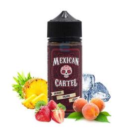 Ananas Fraise Pêche 100 mL - Mexican Cartel