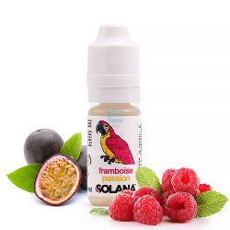 E-liquide Framboise / Passion 10 mL - Solana