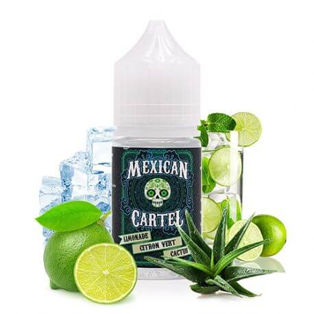 Concentré Limonade Citron Vert Cactus 30 mL - Mexican Cartel