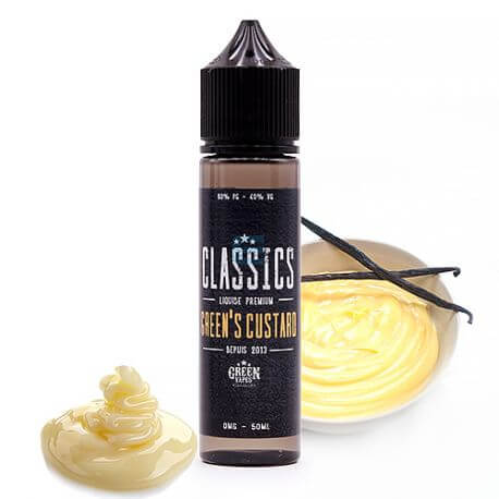 Green's Custard 50 mL - Green Vapes