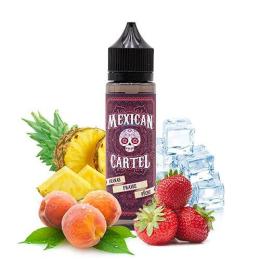 E-liquide Ananas Fraise Pêche 50 mL - Mexican Cartel