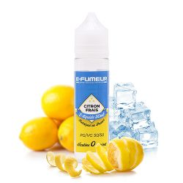 E-liquide Citron Frais 50 mL - E-FUMEUR