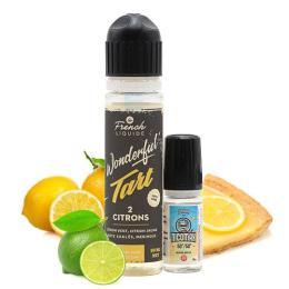 E-liquide Wonderful Tart 2 Citrons 60 mL - Le French Liquide