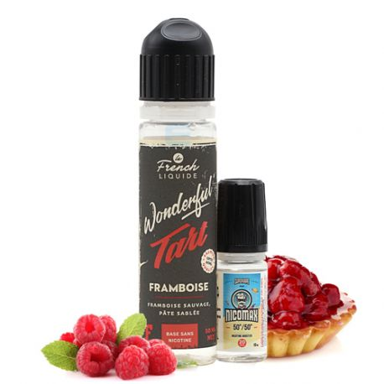 E-liquide Wonderful Tart Framboise 60 mL - Le French Liquide