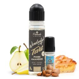 E-liquide Wonderful Tart Poire Amandine 60 mL - Le French Liquide
