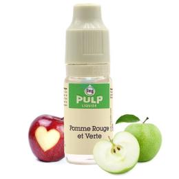 E-liquide Pomme Rouge et Verte 10 mL - Pulp