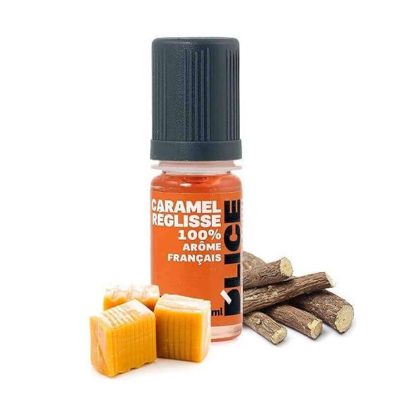 E-liquide Caramel Réglisse - Dlice