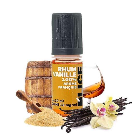 E-liquide Rhum Vanille - Dlice