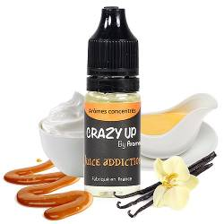 Arômes DIY gourmands - Juice Addiction Crazy Up 10 mL - Aromea