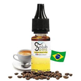 Arôme Café Brésil Noir 10 mL - Solubarome