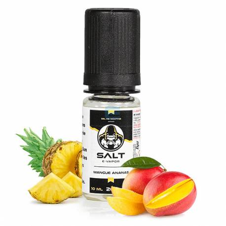 Mangue Ananas Salt E-Vapor 10 mL - Le French Liquide