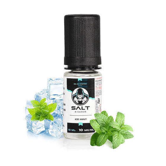 Ice Mint Salt E-Vapor 10 mL - Le French Liquide