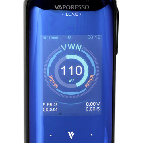mode wattage Luxe Vaporesso