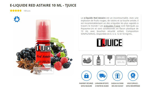 liquide Red Astaire