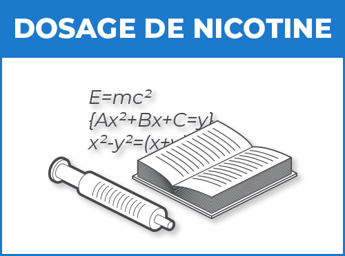 Choisir son dosage de nicotine