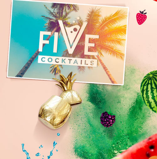 gamme five cocktails