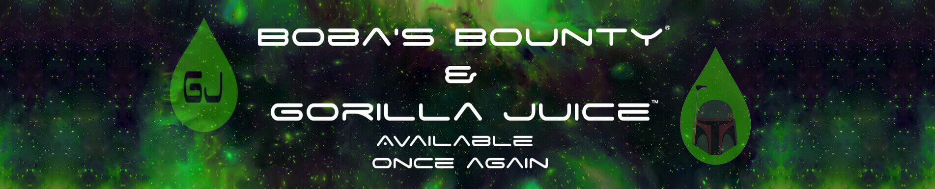 Bannière E-liquides Alien Visions