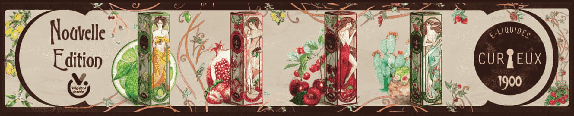 E-liquide Edition 1900 par Curieux, format Mix'n'Vape