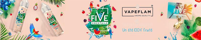 E-liquides The Five Cocktails par Vape Flam