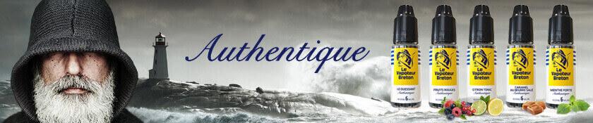 E-liquide Authentique Le Vapoteur Breton