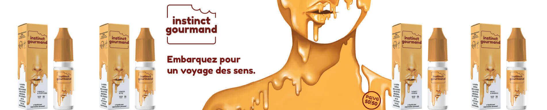 E-liquide Instinct Gourmand par Alfaliquid