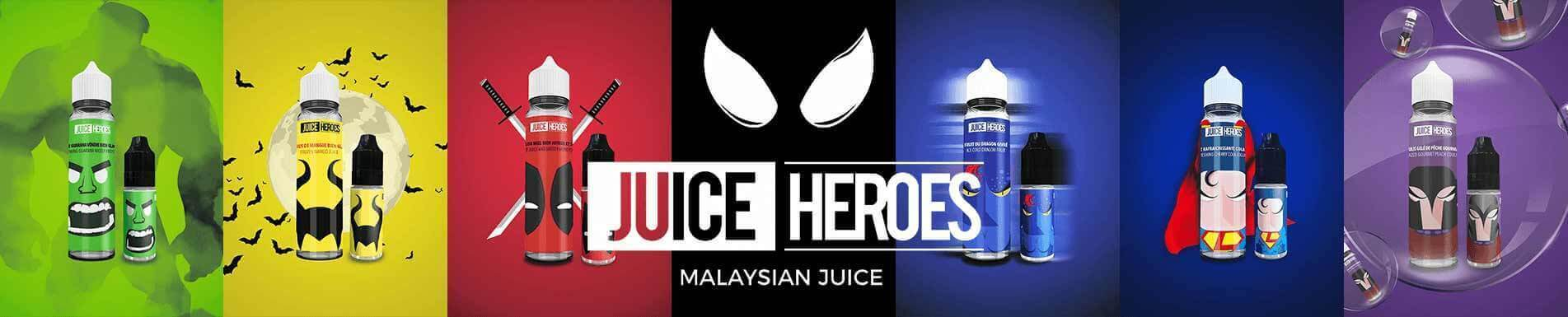 e-liquide juice heroes