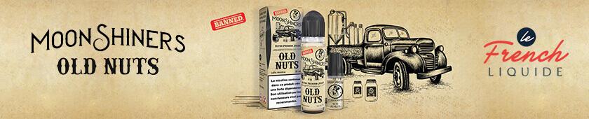 E-liquide Old Nuts 60 mL - Moonshiners par Le French Liquide