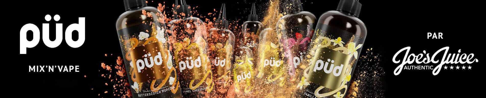 E-liquide Püd Mix'n'Vape par Joe's Juice