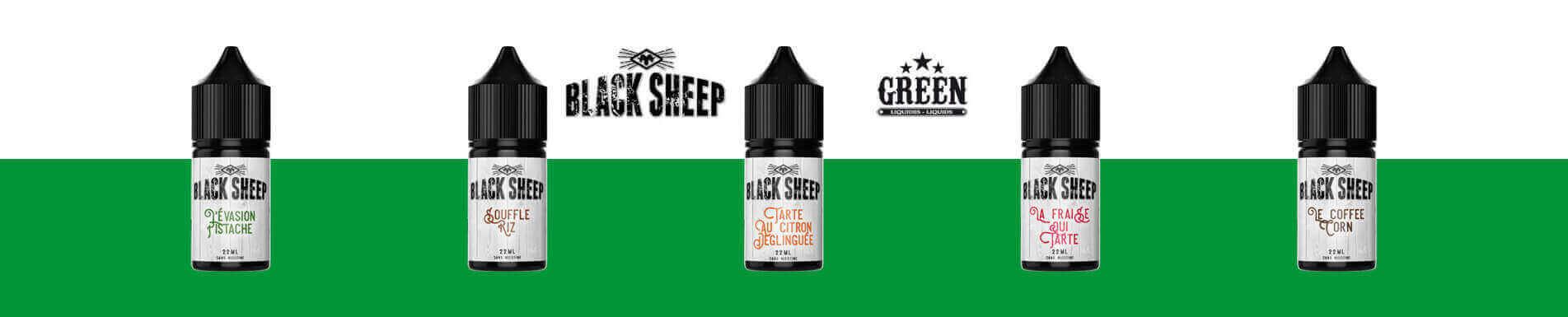 E-liquides Black Sheep Mix'n'Vape par Green Liquides