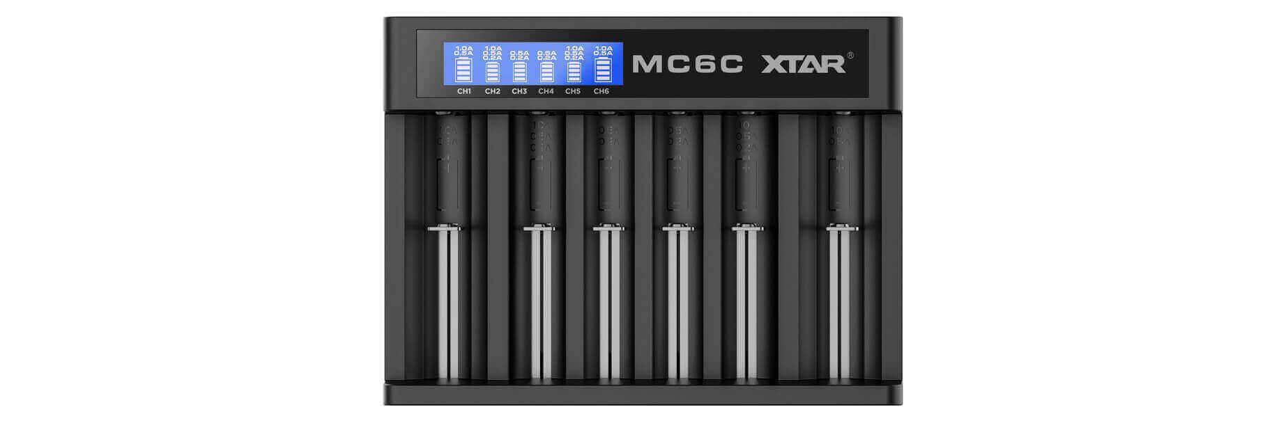 Chargeur XTAR MC6C