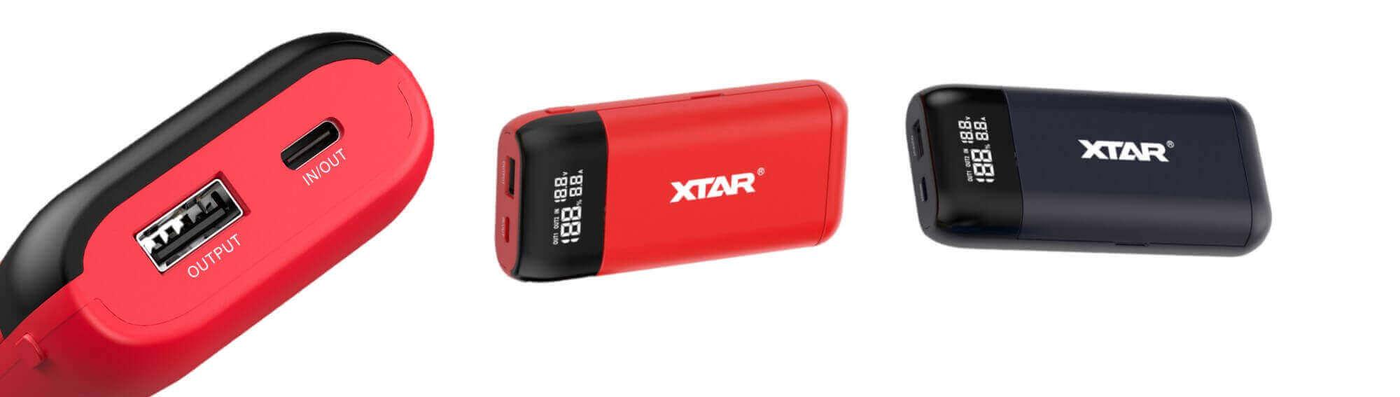Prises USB Xtar PB2S
