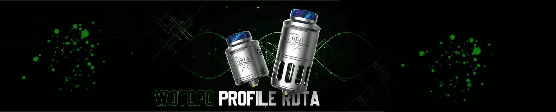 Atomiseur Wotofo Profile RDTA