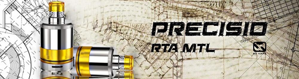 Atomiseur Precisio RTA BD Vape