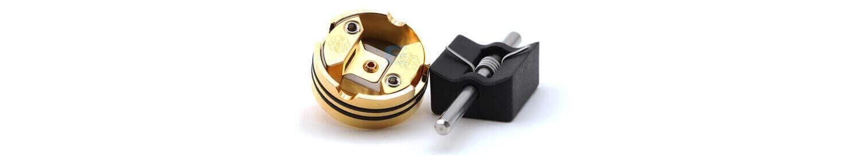 Gabarit et plateau de montage du dripper DotRDA single coil DotMod