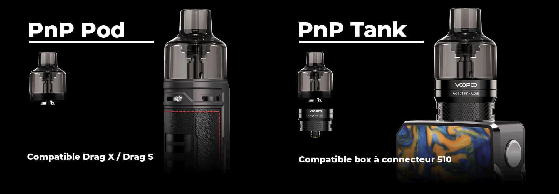 PnP Pod Tank par Voopoo