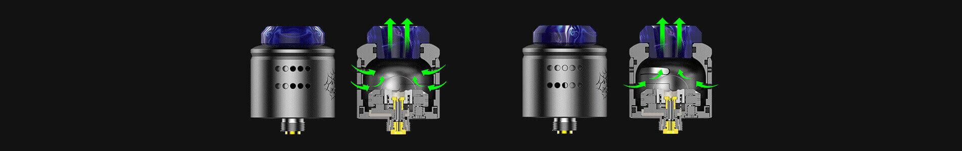 Airflow Profile RDA 1.5 Wotofo