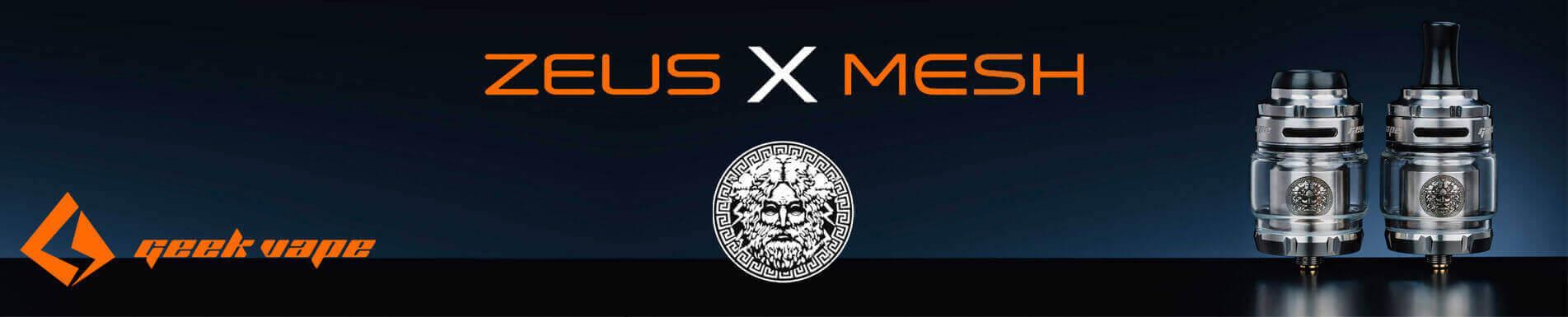 Atomiseur Zeus X Mesh RTA par GeekVape