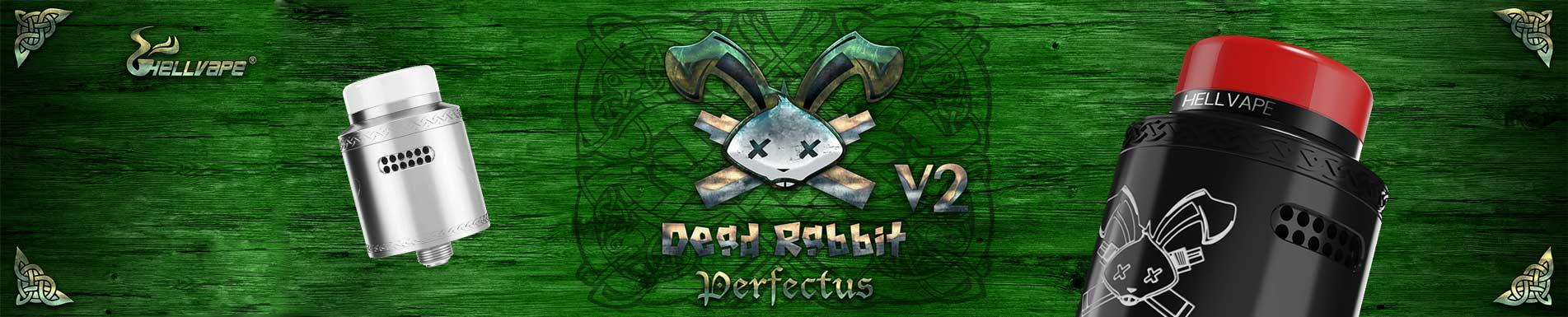 Dripper Dead Rabbit V2 RDA par Hellvape