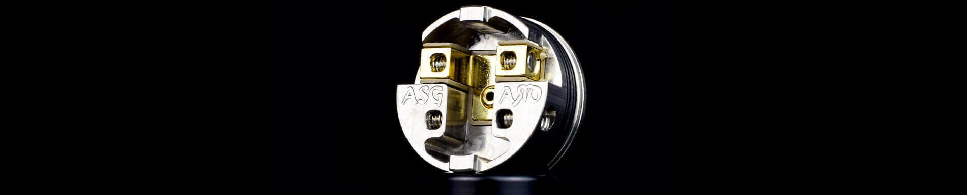 Plateau dripper Asgard Mini RDA Vaperz Cloud