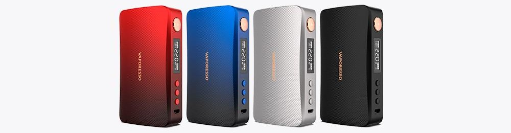 Coloris box Gen mod 220W par Vaporesso