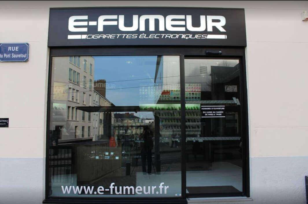 Magasin d'e-cigarettes à Nantes